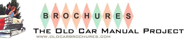 The Old Car Manual Project brochure gallery