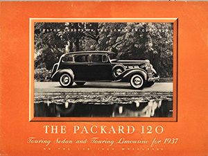 1937 Packard 120 Brochure