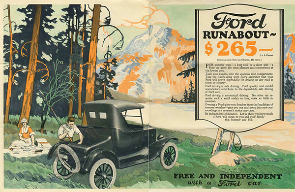 1924 Ford Freedom Mailer