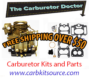 Carburetor kits and parts