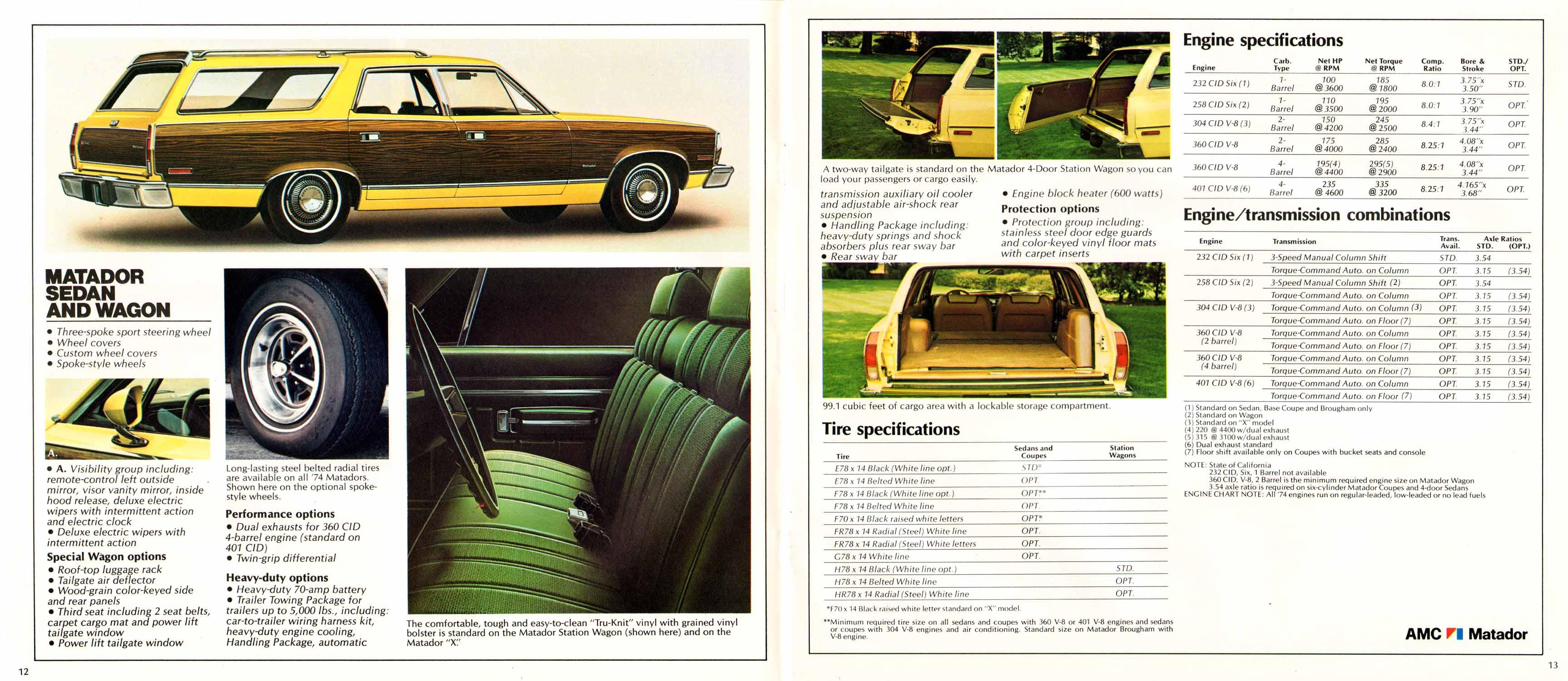 Image 1974 Amc Prestige 12 13 Classic Car Wiring Harness Kits