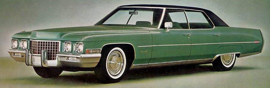 1971 Cadillac Brochures