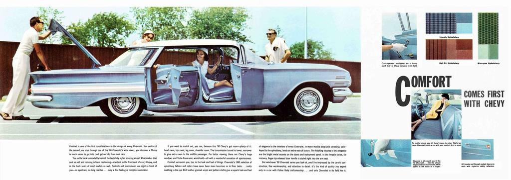 1960 chevrolet full line prestige brochure. Black Bedroom Furniture Sets. Home Design Ideas