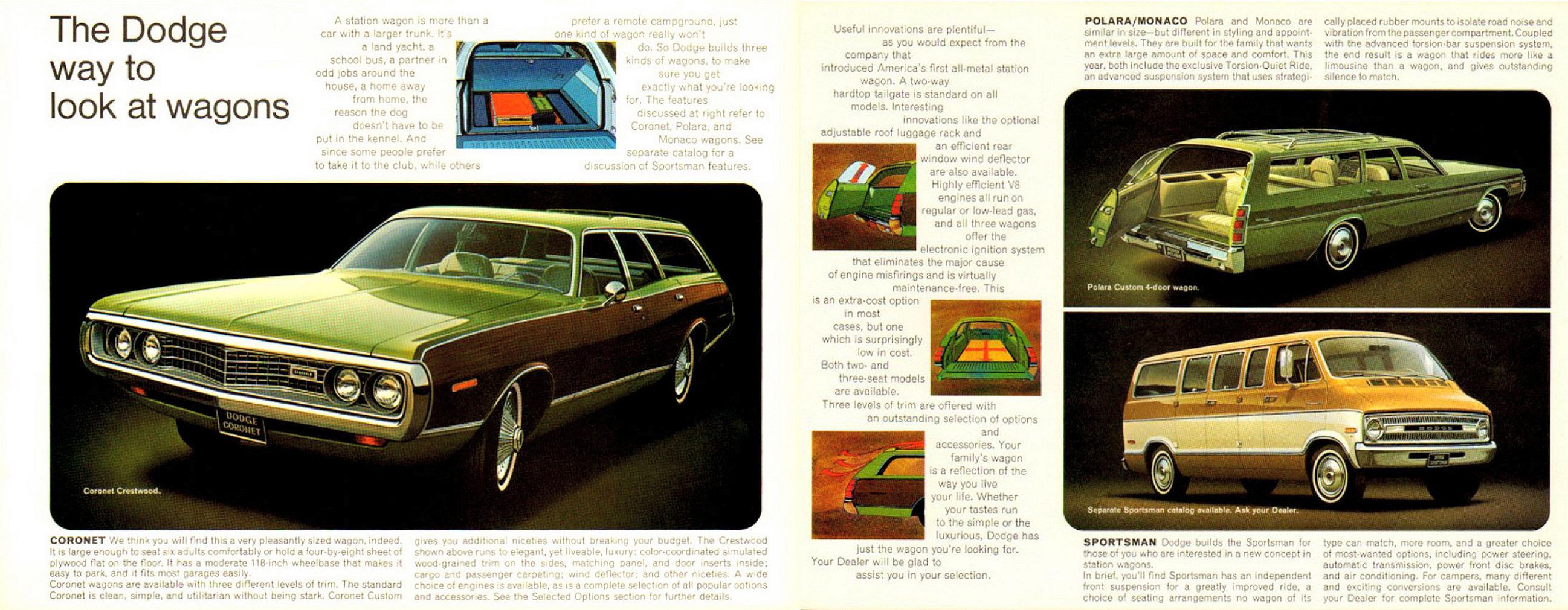 1972 Dodge Wagons Brochure