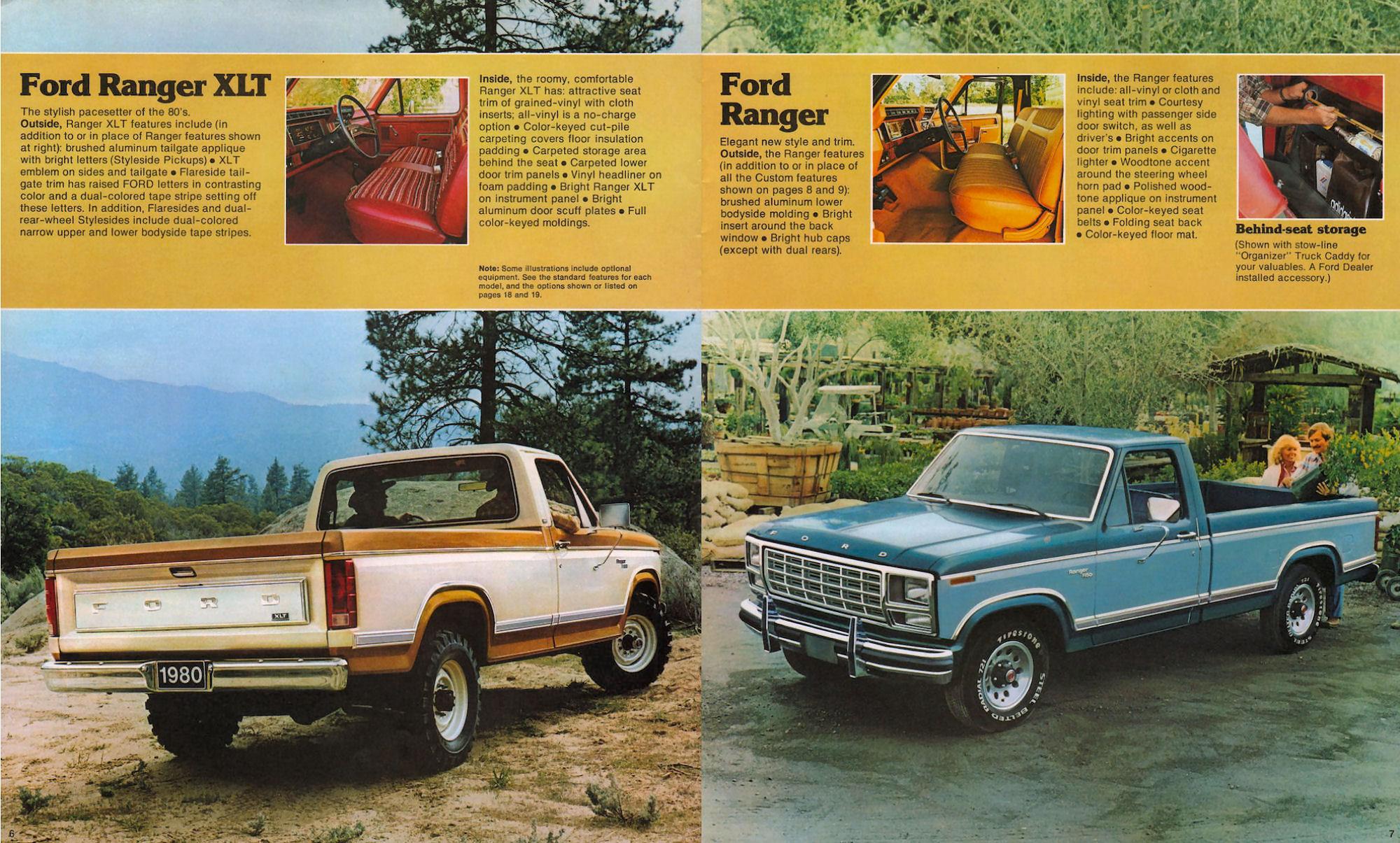 Ford pickup brochure
