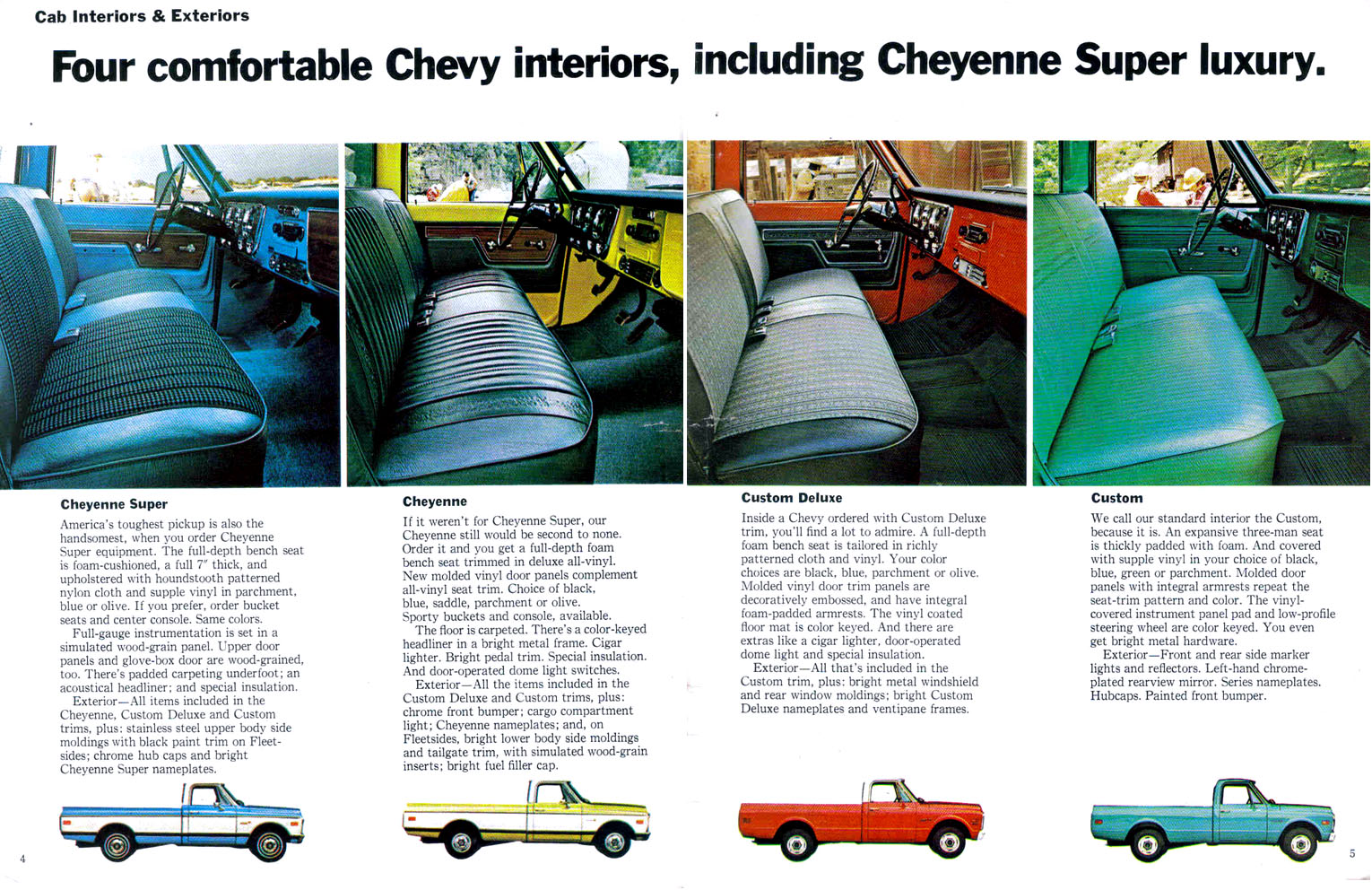 Pics Of Oem 1972 Seats The 1947 Present Chevrolet Gmc Truck Message Board Network