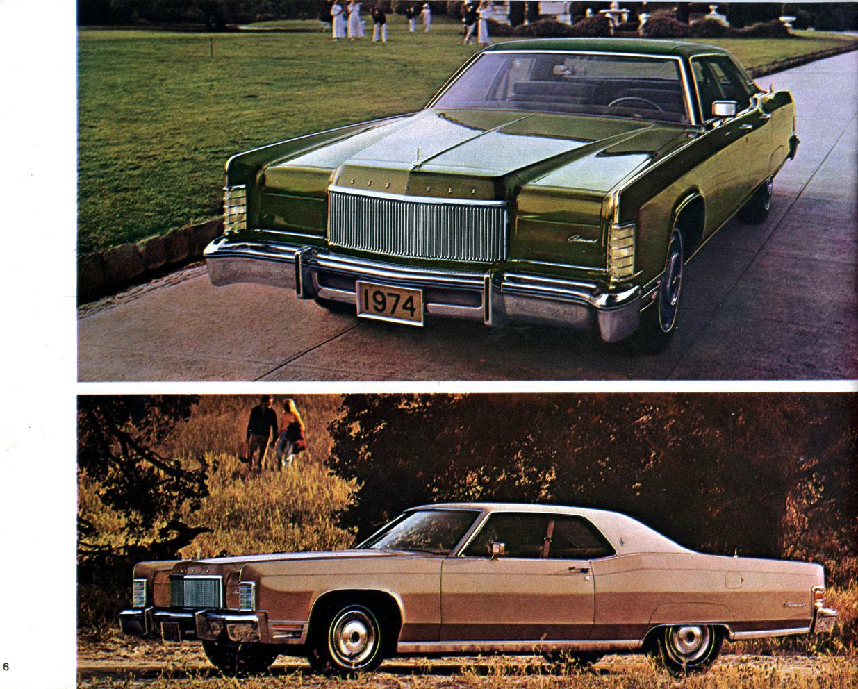 Lincoln Mercury Englisch Prospekt Brochure Capri 1 Progr.1974  26,5x21cm 32S