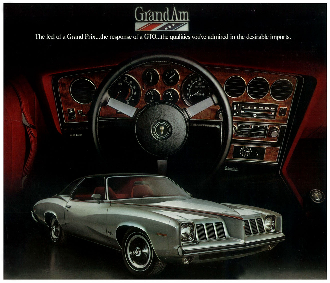 1973 Pontiac Grand Am Gto Project Car Full Size Image